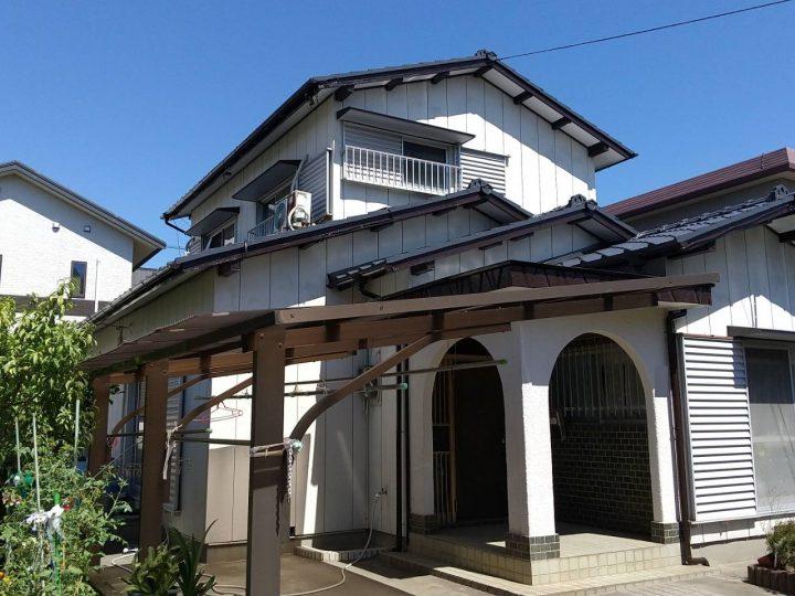 徳島市新浜町 T様邸 屋根塗装
