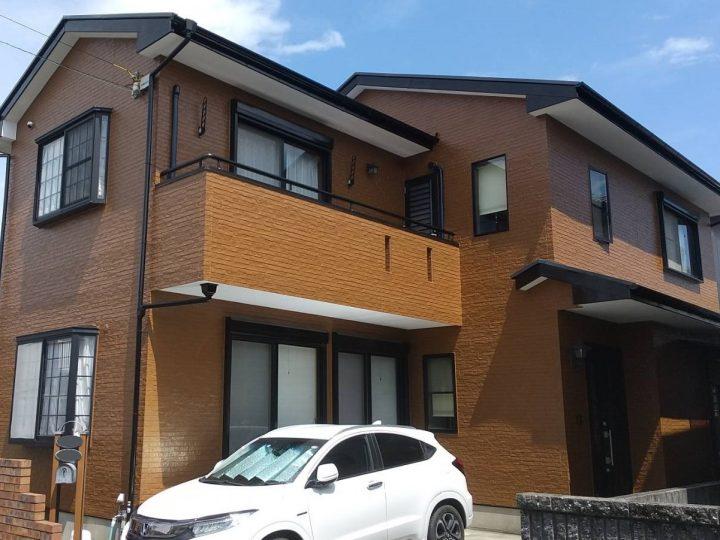 徳島市北佐古 F様邸 屋根塗装 外壁塗装 防水工事