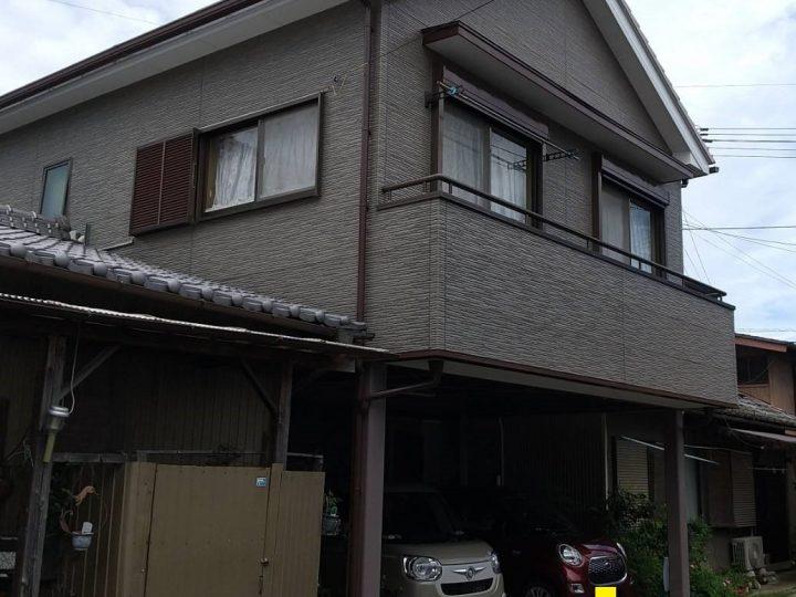 徳島市上助任町 K様邸 屋根塗装 外壁塗装