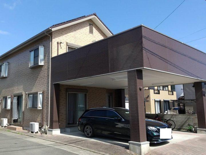 徳島市北矢三 M様邸 屋根塗装 外壁塗装(社長・眞鍋様)